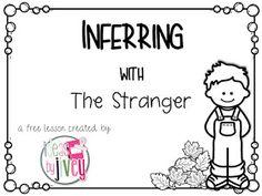 The Stranger by Chris Van Allsburg Great story to teach