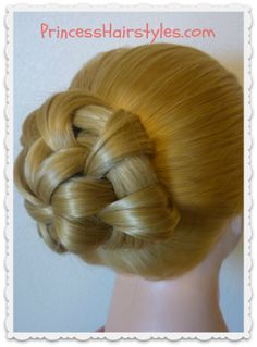 Hairstyles For Kids On Pinterest Princess Hairstyles