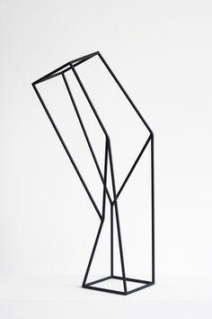 VTG Modern Art Geometric Kinetic Sculpture Abstract-lewitt