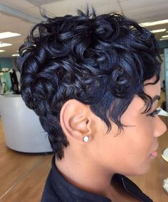 Pin Curls Short Hair Black Women Hair That Rocks Pinterest