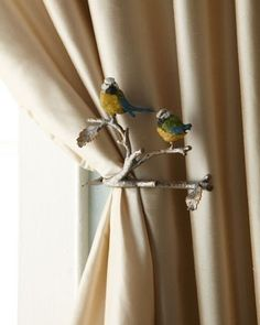 Magical Thinking Feather Curtain Tie Back Urban Outfitters