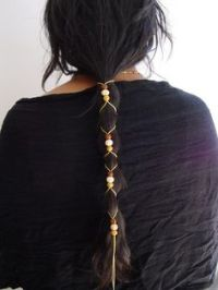 1000+ images about hair on Pinterest   Wraps, Deerskin and ...