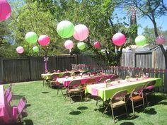 Pink And Yellow Garden Baby Shower Gardens Garden Bridal
