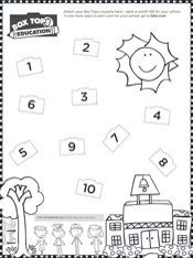 Back-to-school box tops collection sheet! Free download on