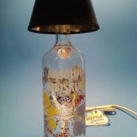 Liquor Bottle Lamps on Pinterest   Bottle Lamps, Liquor ...