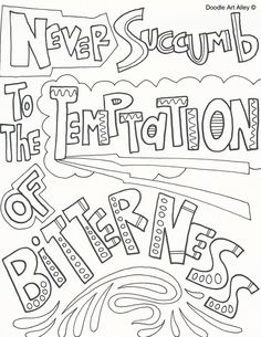 http://www.doodle-art-alley.com/bullying-coloring-pages