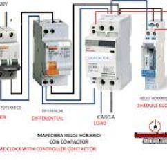 General Motors Wiring Diagram Symbols Peterbilt Parts Esquemas Eléctricos: Como Conectar Un Reloj Horario A Contactor | Eléctricos Pinterest
