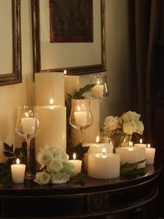 Large Wall Sconce And Candles A La Maison Pinterest