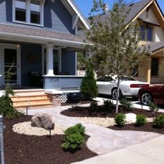 front yards yard landscaping