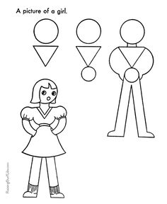1000+ images about How to Draw- Kindergarten on Pinterest