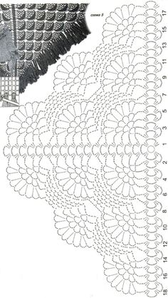 1000+ ideas about Crochet Shawl Diagram on Pinterest