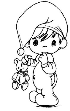 kids coloring page precious moments christmas 3 wise men