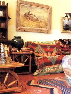 Southwestern Interior Paint Palette Terracotta In Southwestern
