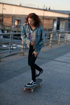 Penny Skateboards Girl Wallpaper Skater Girl Tumblr Clothing Of Sorts Pinterest