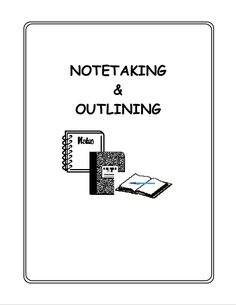 Study, Note taking and Note on Pinterest