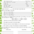 Shurley English 5th Grade Worksheets