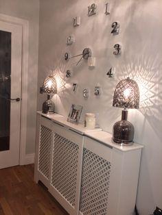 Ikea Hemnes Shoe Cabinet Round Mirror Good For Dark