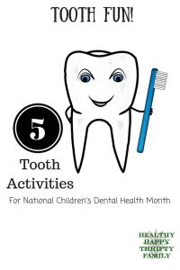 Celebrate Dental Health Month & teach your class about