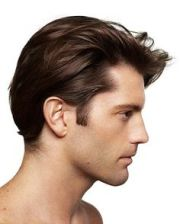 mens hairstyle short sides long