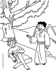 Crossing The Jordan (Coloring Page) Coloring pages are a