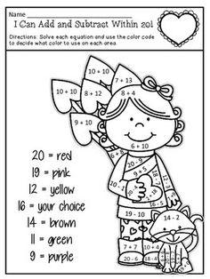 Valentine's Day Common Core Curriculum on Pinterest