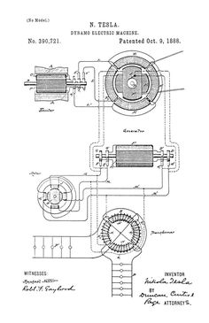 This is a print of a 1929 vacuum tube patent, presented as