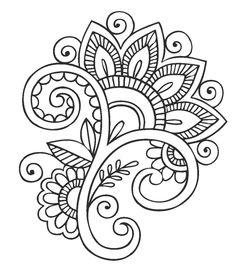 Dibujos y Plantillas para imprimir: dibujos de flores para