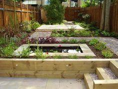 Split Level Garden Outdoor Design Ideas Pictures Remodel And