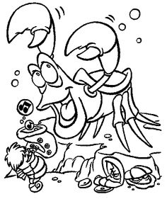 1000+ images about Little Mermaid Coloring Pages on