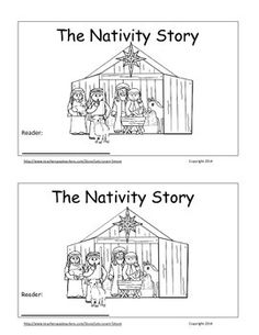 Christmas Nativity Activities packet FREEBIE...includes