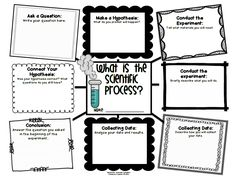 Scientific method, Templates and Science on Pinterest