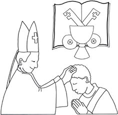 St. John Bosco Catholic Coloring Page. Feast day is
