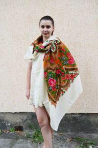 1000+ images about Vintage Ukrainian shawl on Pinterest ...