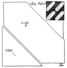 1000+ images about Quilts Indian Hatchet on Pinterest