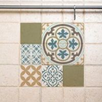 PVC vinyl mat Tiles Pattern Decorative linoleum rug PVC ...