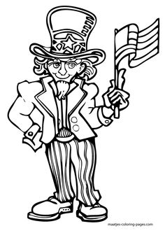 Patriotic Coloring Pages Veterans Day. Memorial Day