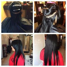 1000 images about apply weft extentions sew in on pinterest invisible part weave