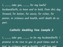 1000+ ideas about Traditional Wedding Vows on Pinterest ...