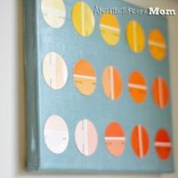 1000+ images about paint chip projects on Pinterest ...