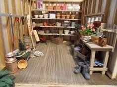 My Garden Shed Interior Our Farmhouse Pinterest Gardens