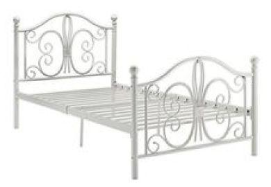Dhp Bombay Metal Bed Twin White Amazon