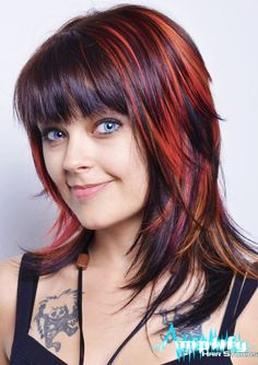 Funky Long Layered Hairstyles Hair Pinterest Funky Long