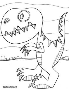 Free printable dinosaur name tags. The template can also