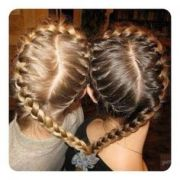 1000 ideas heart braid