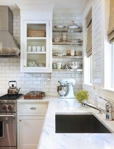 Kitchen with subway