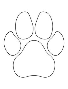 Grizzly Bear pattern. Use the printable pattern for crafts