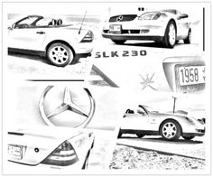Mercedes SLK 320 Windscreen, Windblocker, Wind Deflector