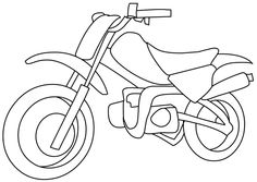 1000+ images about Motorcycles Coloring Pages on Pinterest