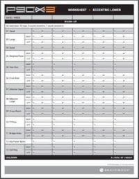 P90X3 Workout Sheets | P90X3 Complex Lower | Free PDF ...