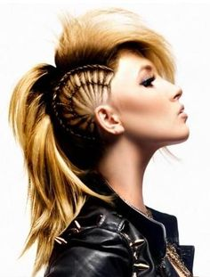 10 Best Images About Unique Hairstyles Girls And Boys On Pinterest